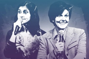 Aparna Nancherla and Tig Notaro (Photo-Illustration: Kelly Chiello / Getty Images)
