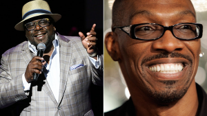 Cedric the Entertainer & Charlie Murphy (David Buchan/Variety/Rex, HectorMata/AFP/Getty)