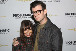 Natasha Leggero & Moshe Kasher (Photo: Jesse Grant/Getty Images for Comedy Central)
